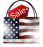 SALE Bag America Stock Photos