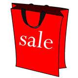 Sale bag vector Royalty Free Stock Photo