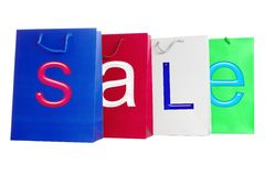 Sale - Bags Royalty Free Stock Photo