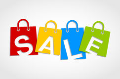 Sale bags Royalty Free Stock Photo
