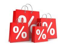 Sale bags Stock Photos