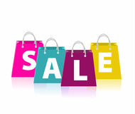 Sale bags. Stock Photography
