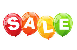 Sale Balloon Concept of Discount. Vector Illustration Royalty Free Stock Images