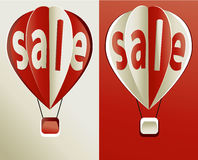 Sale balloon icon Royalty Free Stock Photography