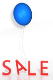 Sale with balloon Stock Images