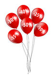 Sale Balloon Sign Vector Illustration Royalty Free Stock Image