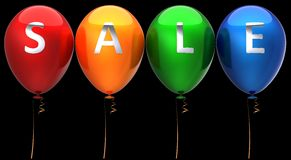 Sale balloons Stock Photos