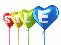 Sale balloons Stock Images