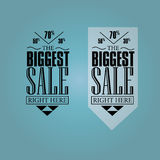 Sale baner Royaltyfri Fotografi