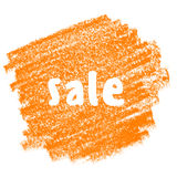 Sale baner i grungestil Royaltyfri Fotografi