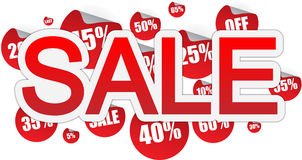 Sale banner Stock Photo