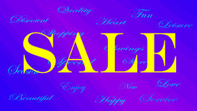 Sale banner ad Stock Photo