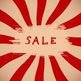 Sale Banner Royalty Free Stock Photography