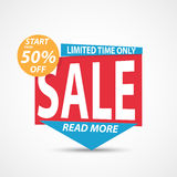 Sale Banner and Best Offer Royalty Free Stock Photography