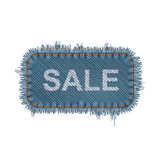 Sale Banner Concept. Editable Vector Sale Banner Concept Isolated On White Royalty Free Stock Images