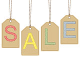 Sale banner design Stock Image