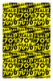 Sale banner. Easy edited sale banner illustration Stock Images