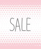 Sale banner Royalty Free Stock Photos