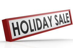 Sale banner on holiday Royalty Free Stock Image