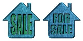 Sale banner. Home for sale. sale banner Royalty Free Stock Images