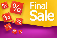 Sale banner 04 Royalty Free Stock Images