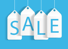 Sale Banner with Place for Your Text. Vector Illustration Royalty Free Stock Photography