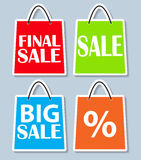 Sale Banner with Place for Your Text. Vector Stock Image