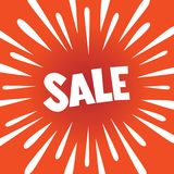 SALE banner poster Royalty Free Stock Photo