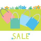 Sale banner, poster, leaflet Royalty Free Stock Photography