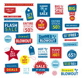 Sale banner set. Shop now, buy one get one free, vector. Sale banner set. Shop now, buy one get one free, vector illustration Royalty Free Stock Photo