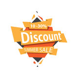 Sale banner template design. Summer sale banner template design. Special offer stock photo
