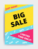 Sale banner template Stock Image