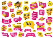 Sale banner templates design. Mega sale special offer. Vector. Sale banner templates design. Mega special offer. Cyber monday sale discount. Black friday vector illustration