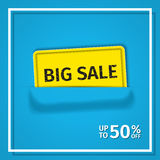 Sale banner. Vector. Royalty Free Stock Images