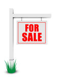 For sale banner Stock Photos