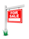 For sale banner Stock Photo