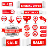 Sale Banners Royalty Free Stock Photography