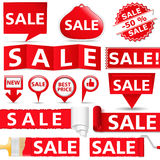 Sale Banners Stock Images