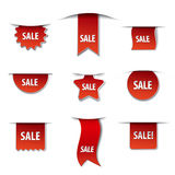 Sale banners. Illustration of the sale banners Stock Photos