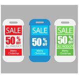 Sale Banners,labels or tags for web Stock Photography