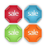 Sale Banners,labels or tags for web Royalty Free Stock Image