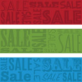 Sale banners Stock Image