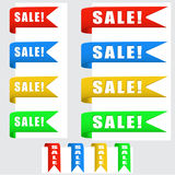 Sale Banners Royalty Free Stock Photo
