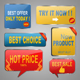 Sale Banners Royalty Free Stock Photos