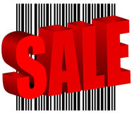 Sale bar code barcode  Stock Photo