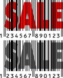 SALE with Barcode Royalty Free Stock Photo