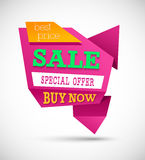 Sale Best Price Banner. Stock Photography