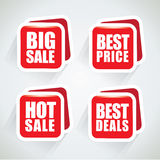Sale, best price and best deal bubbles Stock Photo