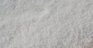 Sale bianco macinato fotografia stock