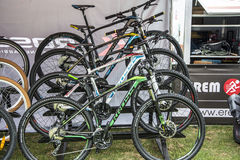 Sale of bicycles Stock Image